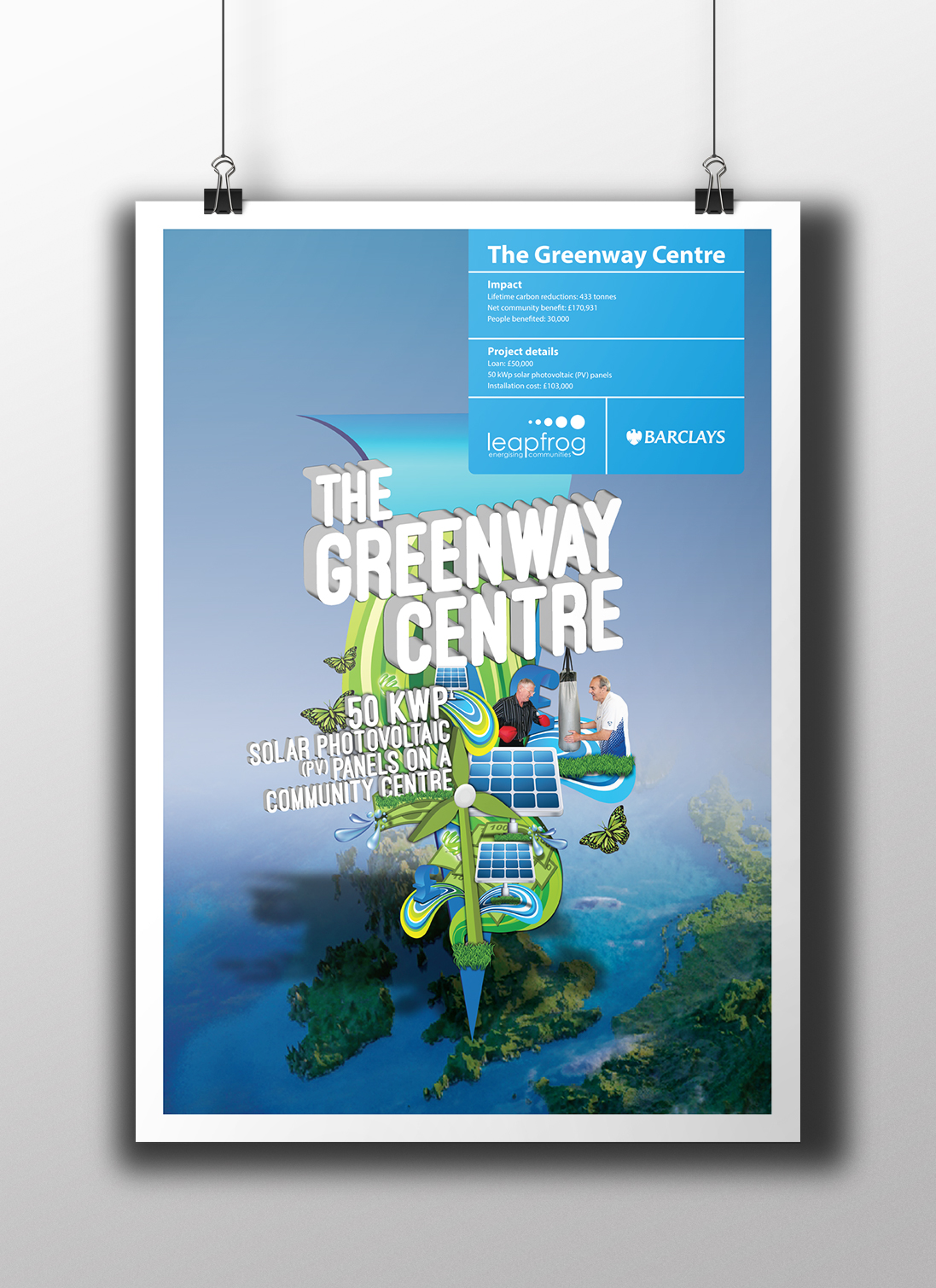Pureleapfrog + Barclays Greenway Southmead-community energy fund